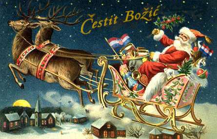 čestit božić čestitke SRETAN BOŽIĆ   Lovret Split čestit božić čestitke